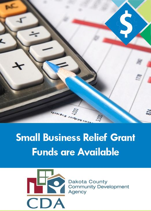 Two grants aimed at supporting burnsville businesses. Application deadline August 14.
